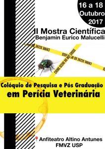 Colóquio de Pesquisa e Pós-Graduação em Perícia Veterinária